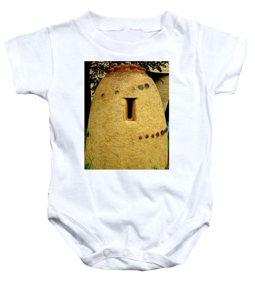 National Museum Of The American Indian 4 Baby Onesie by Randall Weidner