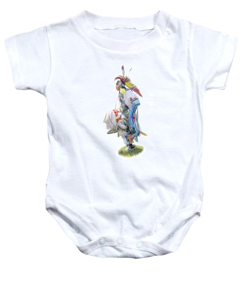 Native American Dancer Baby Onesie