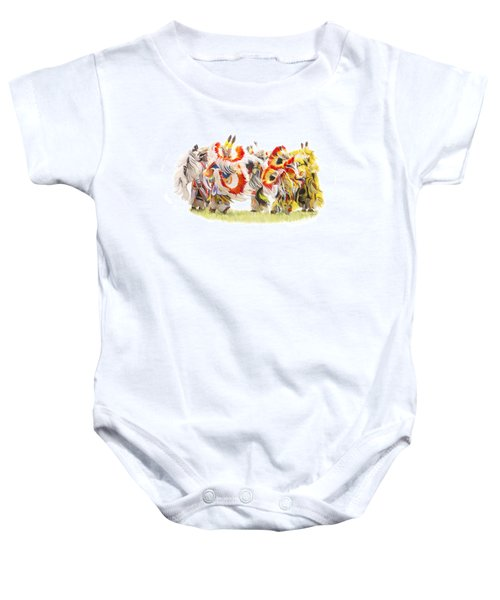 Native Color In Motion Baby Onesie