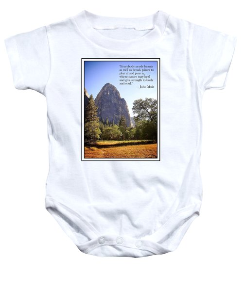 Natures Cathedral Baby Onesie