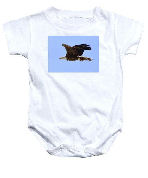 Nesting Eagle Baby Onesie