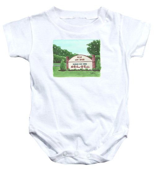 New River Welcome Baby Onesie