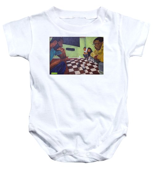 A Game Of Chess Baby Onesie