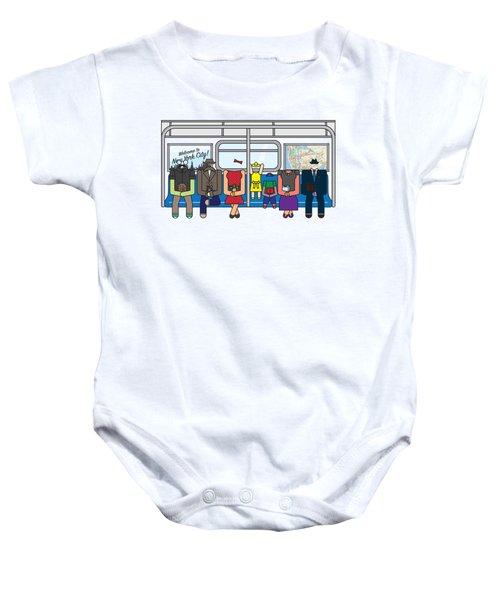 Subway Series Baby Onesie