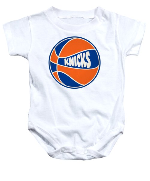 New York Knicks Retro Shirt Baby Onesie
