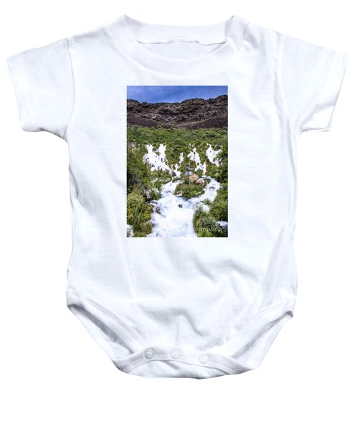Niagra Springs Idaho Journey Landscape Photography By Kaylyn Franks  Baby Onesie