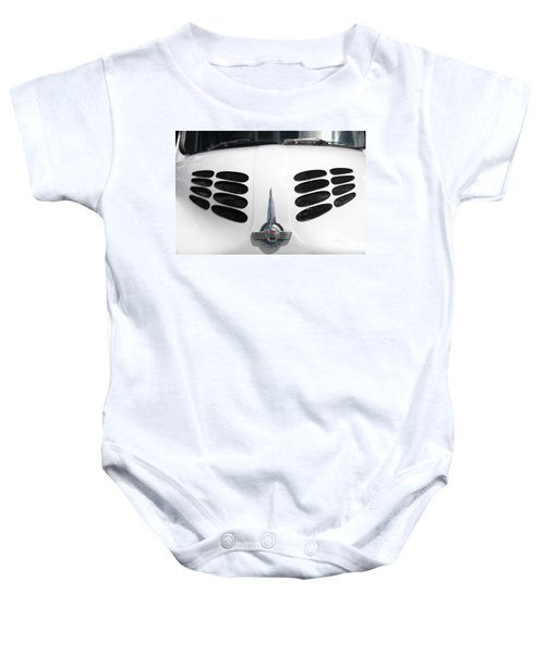 Baby Onesie featuring the photograph Nice Grills by Stephen Mitchell