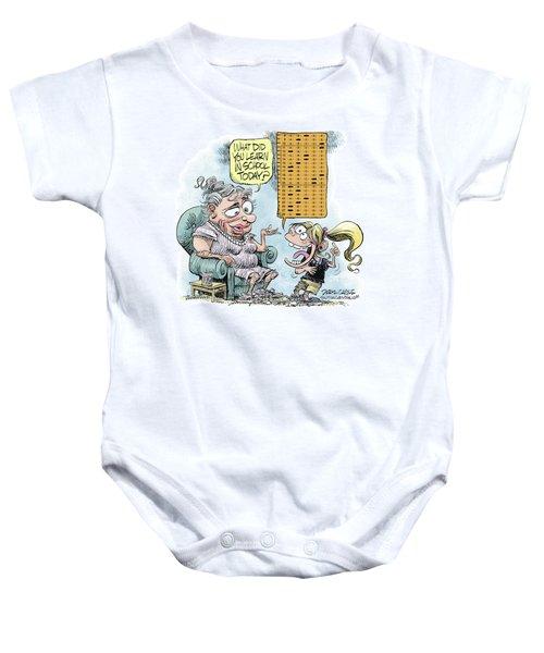 No Child Left Behind Testing Baby Onesie