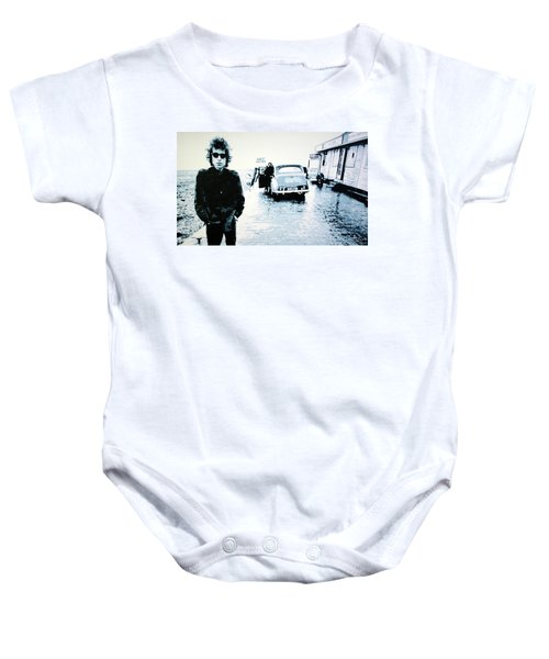 No Direction Home Baby Onesie