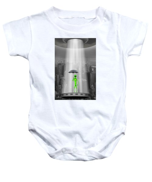 No Intelligent Life Here 2 Baby Onesie