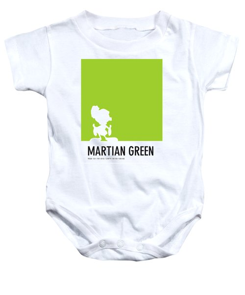 No15 My Minimal Color Code Poster Marvin Baby Onesie