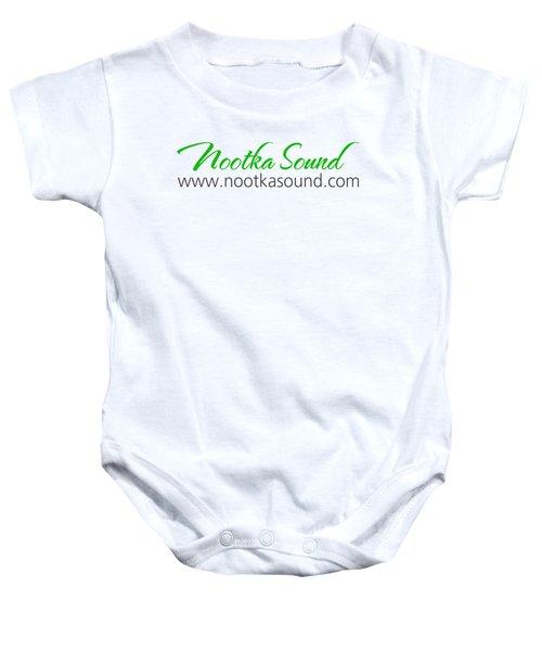 Nootka Sound Logo #10 Baby Onesie by Nootka Sound