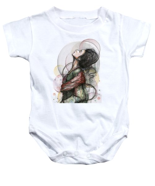 Beautiful Lady Baby Onesie