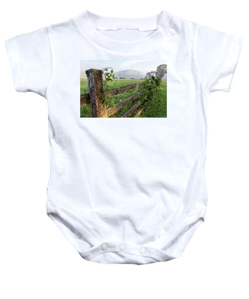North Road View Baby Onesie
