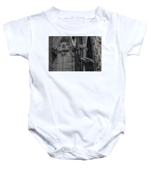 North Side Notre Dame Cathedral Baby Onesie