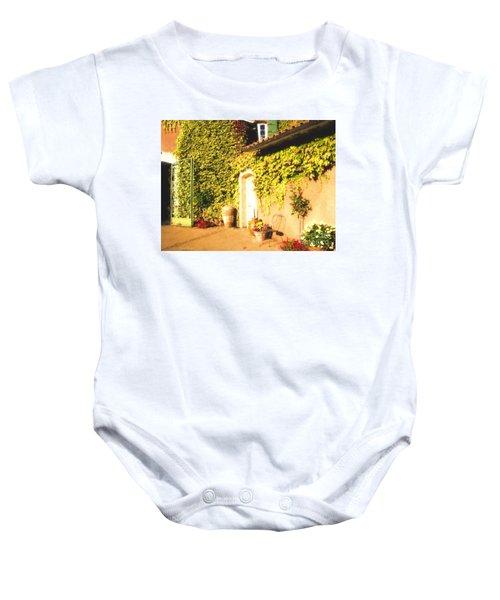 Northern California Winery Baby Onesie
