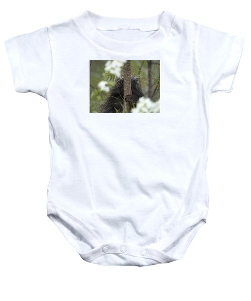 Nowhere To Hide Baby Onesie