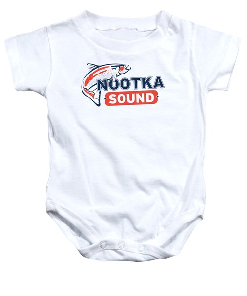 Ns Logo #2 Baby Onesie by Nootka Sound