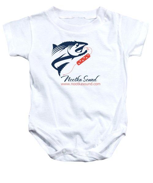 Ns Logo #3 Baby Onesie by Nootka Sound