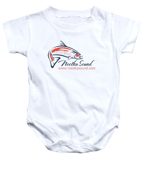Ns Logo #4 Baby Onesie by Nootka Sound