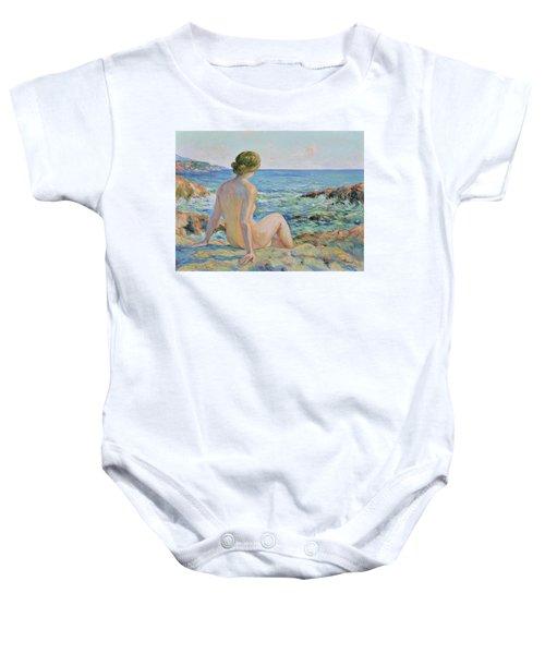 Nude On The Coast Monaco Baby Onesie