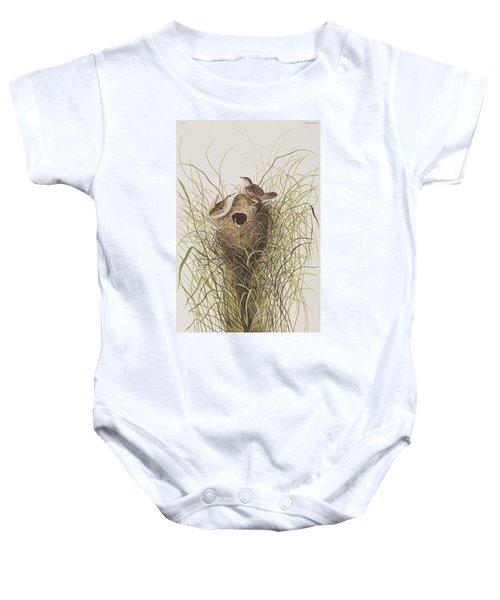 Nuttall's Lesser-marsh Wren  Baby Onesie