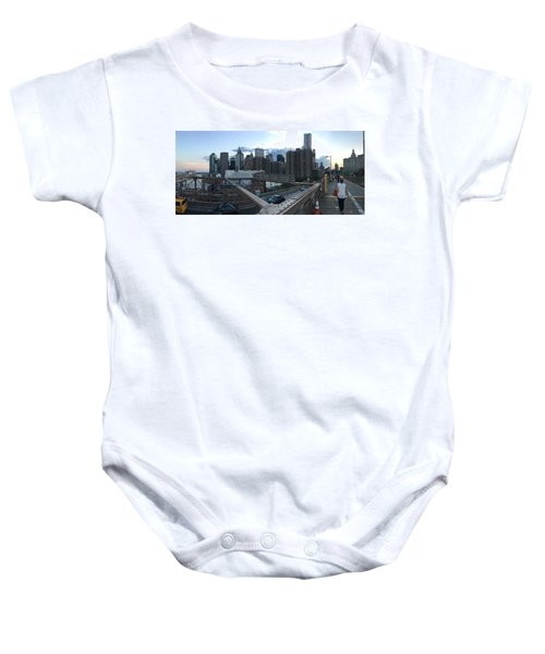NYC Baby Onesie by Ashley Torres