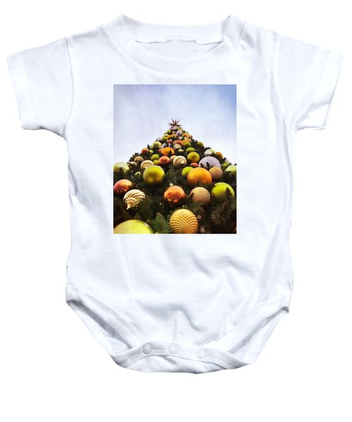 O Christmas Tree Baby Onesie