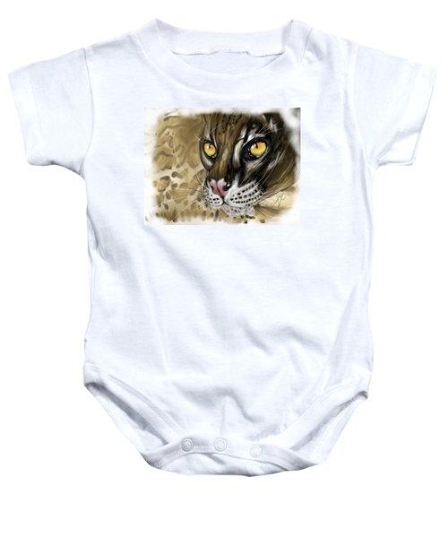 Ocelot Baby Onesie