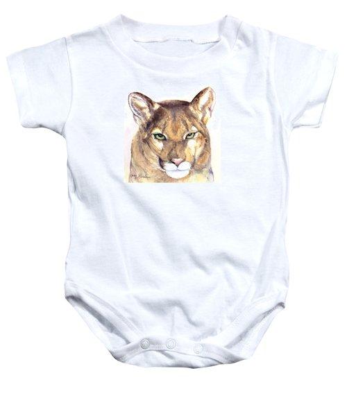 October Lion Baby Onesie