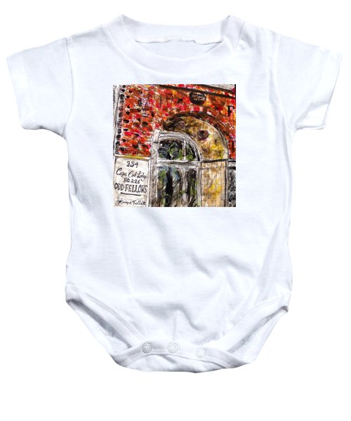 Odd Fellows, Cape Cod Baby Onesie