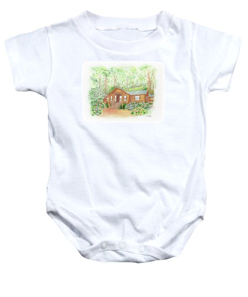 Office In The Park Baby Onesie