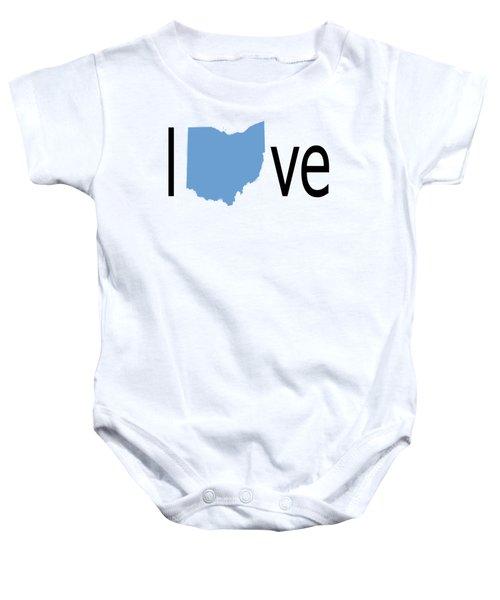 Ohio Love Baby Onesie