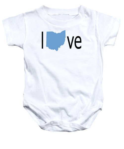 Ohio Love Baby Onesie