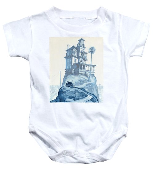 Oil Fields And Orchards Baby Onesie