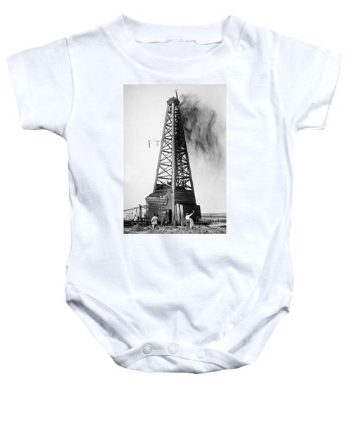 Oklahoma: Oil Well, C1922 Baby Onesie