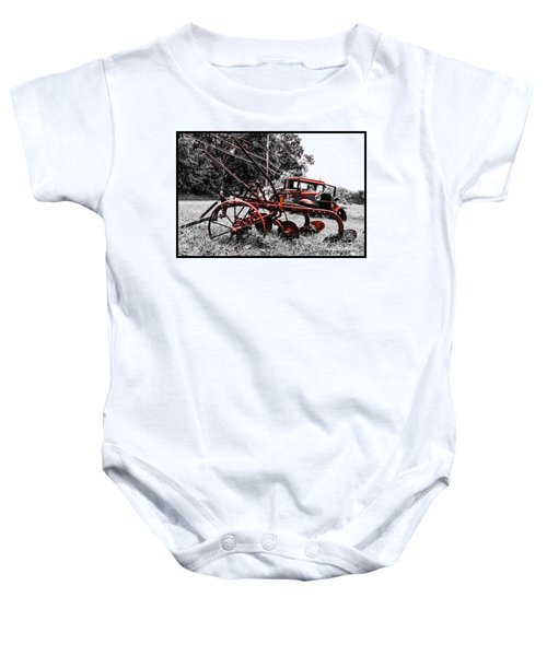 Old And  Rusty Baby Onesie