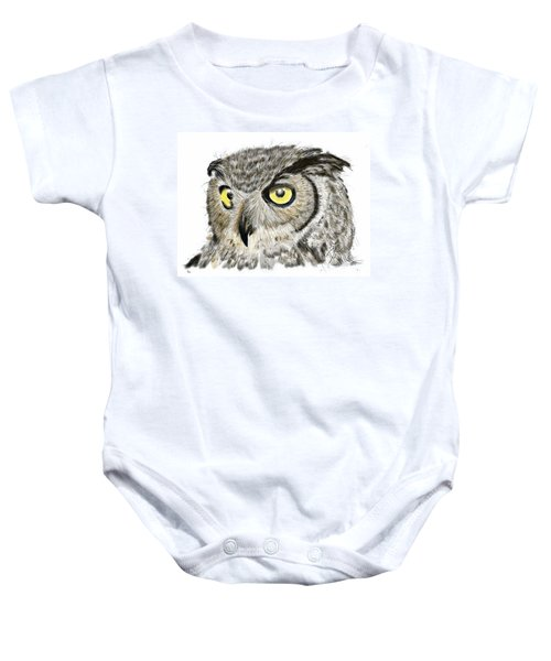 Old And Wise Baby Onesie