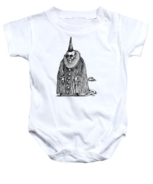 Old Clown Baby Onesie