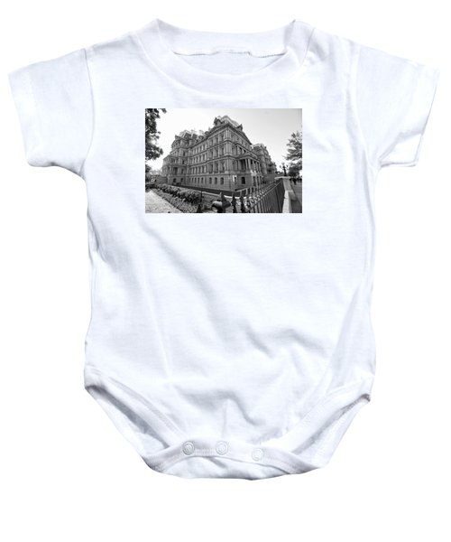 Old Executive Office Building Baby Onesie