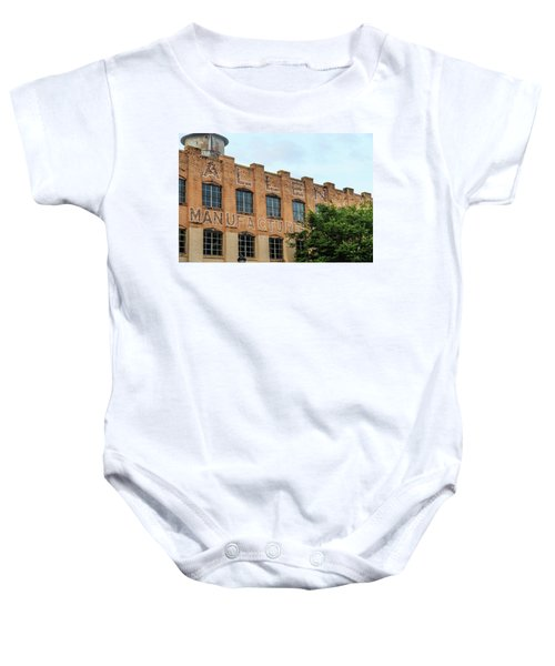 Old Mill Building In Buford Baby Onesie