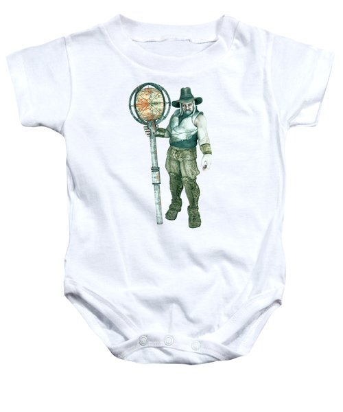 Old Mountain Giant Baby Onesie