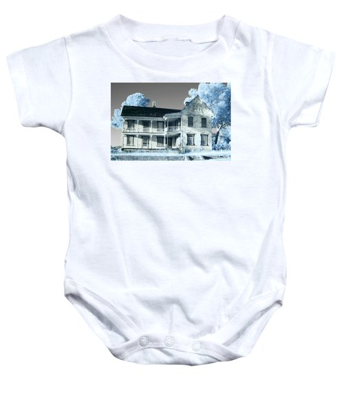 Old Shull House In 642 Baby Onesie