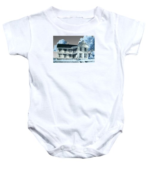 Old Shull House In 642 Baby Onesie