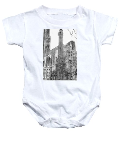 Old Water Tower - Chicago Baby Onesie