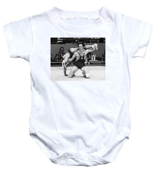 Olympics: Wrestling, 1972 Baby Onesie