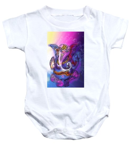 Omkareshvar Ganesha Baby Onesie
