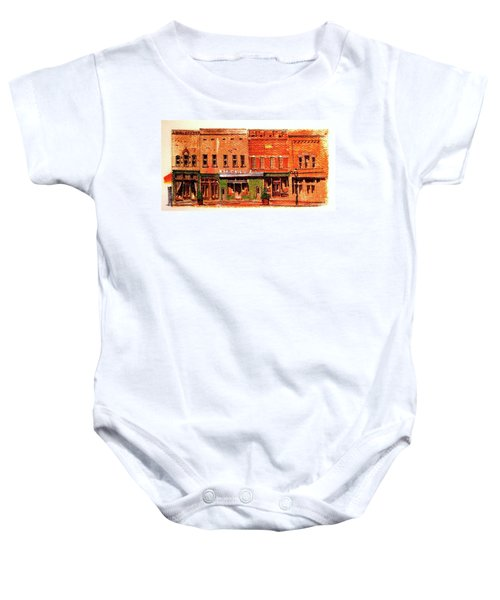 On Market Square Baby Onesie