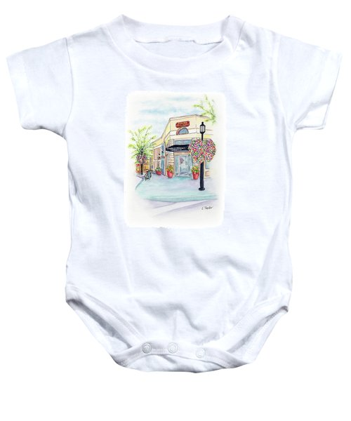 On The Corner Baby Onesie