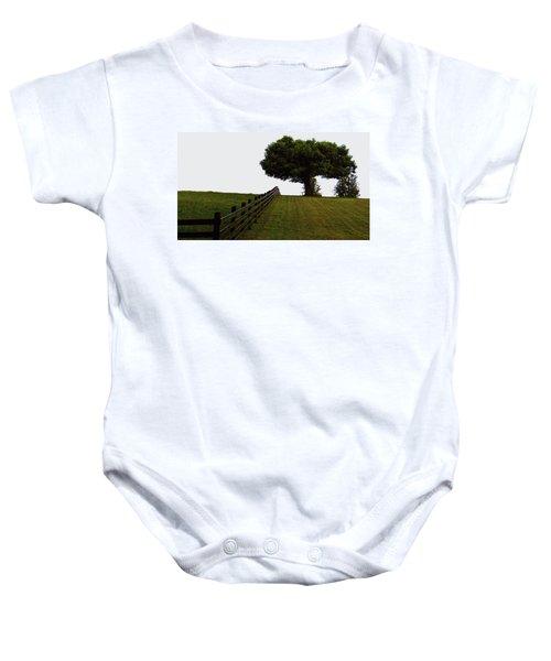On The Farm Baby Onesie